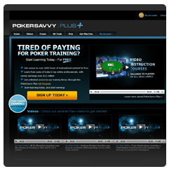 PokerSavvy Plus Website Video Review